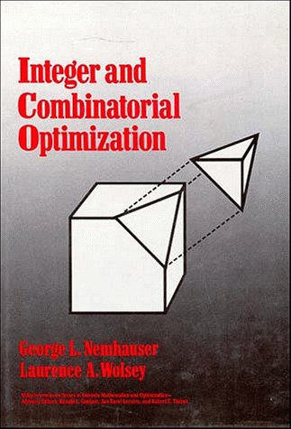 Integer And Combinatorial Optimization